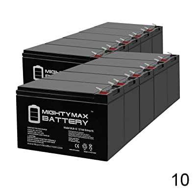 Mighty Max Battery 12V 8Ah Battery Replacement for Mongoose Micro-3 Scooter - 10 Pack Brand Product: Electronics