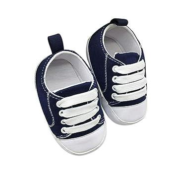 06095b18d9eff Amazon.com: CieKen Baby Girls Boys Canvas Shoes Soft Sole Toddler ...