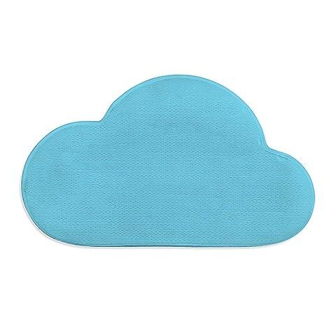 X10 XX Alfombra Alfombras de baño en 3D Alfombras en Forma de Nube Toallas Antideslizantes de