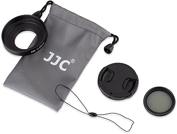 Jjc Gegenlichtblenden Set Für Canon G1x Mark Iii Kamera