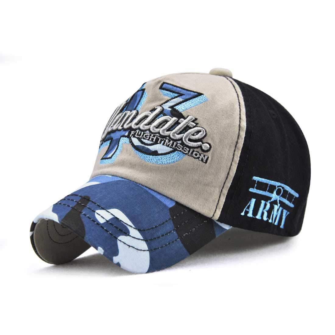 King Star Kids Boy Baseball Hat Cute Letter Embroidered Cotton Cap Black Grey