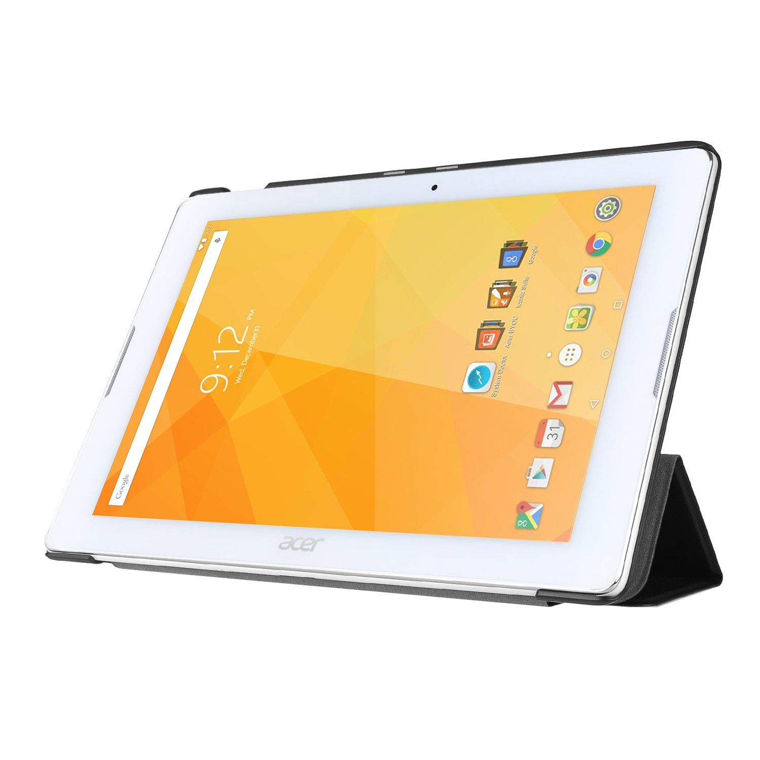 ELTD Acer Iconia One 10 B3-A20 Funda, Ultra Slim Funda de piel ...