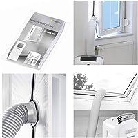 TROTEC AirLock 100 fönstertätning för luftkonditionering mobil luftkonditionering avlufttork Hot Air Stop för montering…