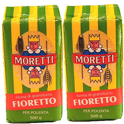 Moretti Polenta Fine | Fioretto - 500g (2 Pack) by Moretti