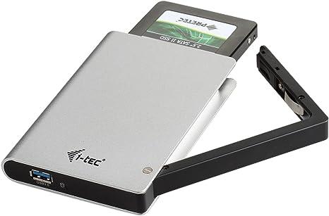 i-Tec USB 3.0 MySafe Clip Caja para el Disco Duro Externo (6.4 cm ...