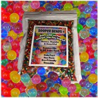 Water Beads, 8 OZ pack (Almost 20000 !!) Sooper Beads...