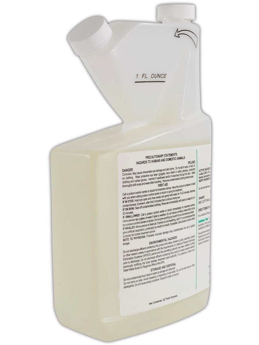 MSA 10009971 Confidence Plus Germicidal Cleaner (Pack of 2)
