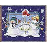 Pure Country Inc. Snow Much Fun Blanket Tapestry Throw