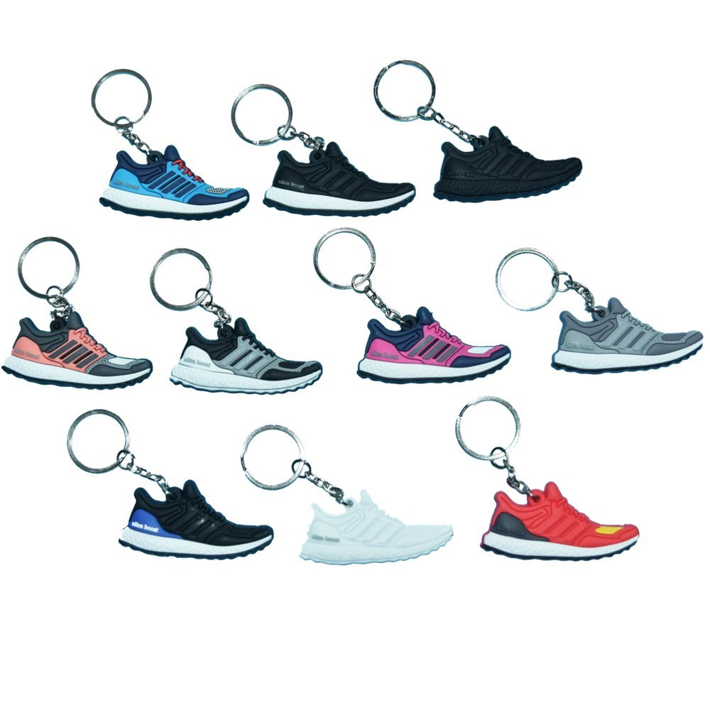 Amazon.com : Ultra Boost Selector Pack - 10 Mini Adidas Silicone Rubber  Keychains : Sports & Outdoors