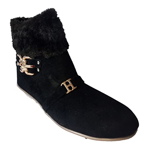 ab61fb60d664 RAFTAAR Designer Latest Boots For Women and Girls Stylish Boots Fur Boots   Buy Online at Low Prices in India - Amazon.in