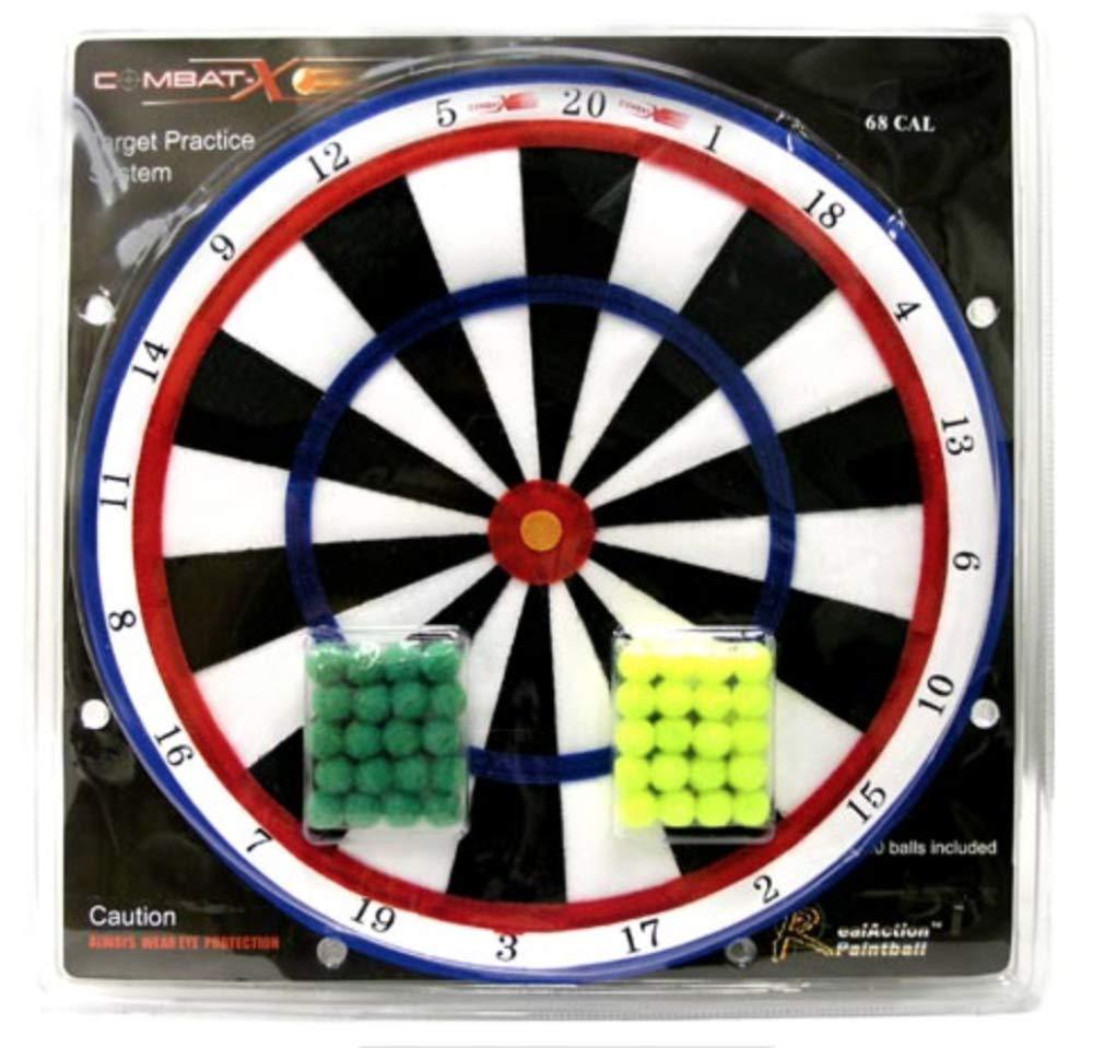 .68 Cal Velcro Paintball Target Ball System