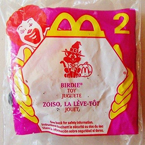 McDonalds Toy Halloween Birdie # 2 Cat Kitty Candy Dispenser 1998 ()