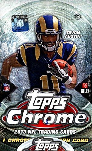 2013 Topps Chrome Hobby Football Box ()