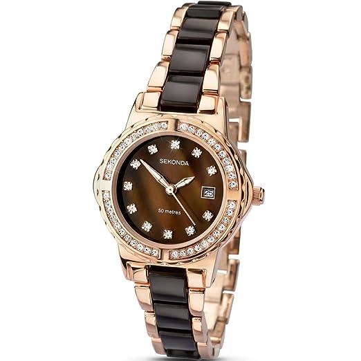 2bf8236f2479 SEKONDA Womens Quartz Watch, Analogue Classic Display and None Strap  4892.27: Sekonda: Amazon.co.uk: Watches