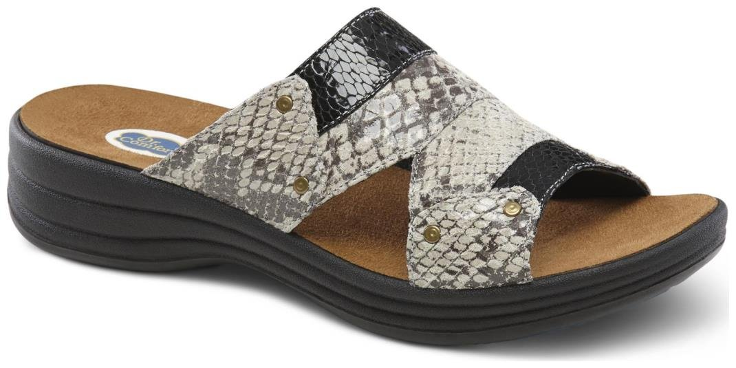 Dr. Comfort Women's Karen Black Sandals by Dr. Comfort