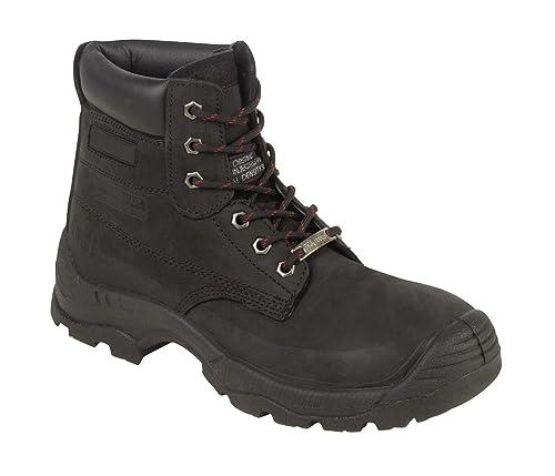 Paroh Men's Beaver 910 Boots Black 4 UK