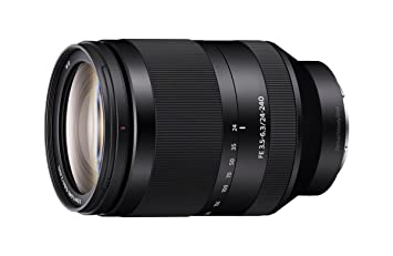 Sony FE 24-240mm f/3.5-6.3 OOS Standard-Zoom Lens for Mirrorless Cameras Camera Lenses at amazon