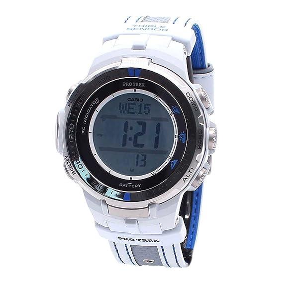 Digital Casio para hombre Casual reloj Solar PRW-3000G-7D: Amazon.es: Relojes