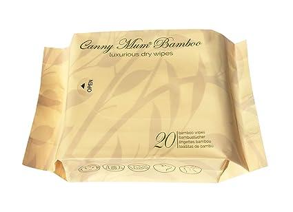 CannyMum Lujosas Toallitas Secas de Bambú. Biodegradables. Rápido y fácil de preparar casera Toallitas