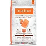Instinct Limited Ingredient Diet Grain Free Recipe with Real Salmon Natural Dry Dog Food by Nature's Variety, 20 lb. Bag
