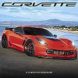 Image of 2018 Corvette Wall Calendar (Mead)