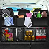 Car Storage Organizer, ONEVER Foldable Car Back Seat Storage Bag High Capacity Car Organizer Interior Accessories for Home Picnic