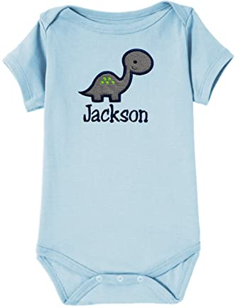Amazon Funny Girl Designs Personalized Embroidered Dinosaur