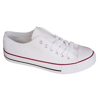 più recente 58f31 649f9 Sneakers Bianche Scarpe da Gimnastica Bianche Donna
