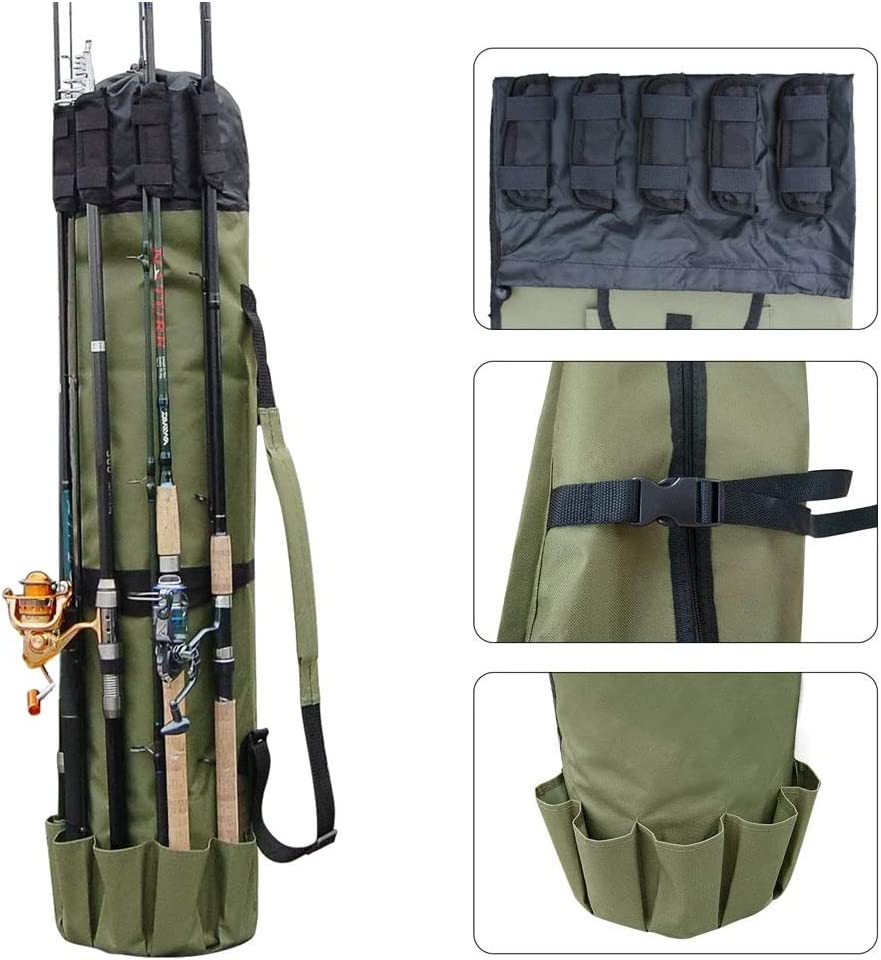 Amazon Com Etna Fishing Rod Case Organizer 48 5 X 13 5 Fishing Rod Cases And Tubes Sports Outdoors