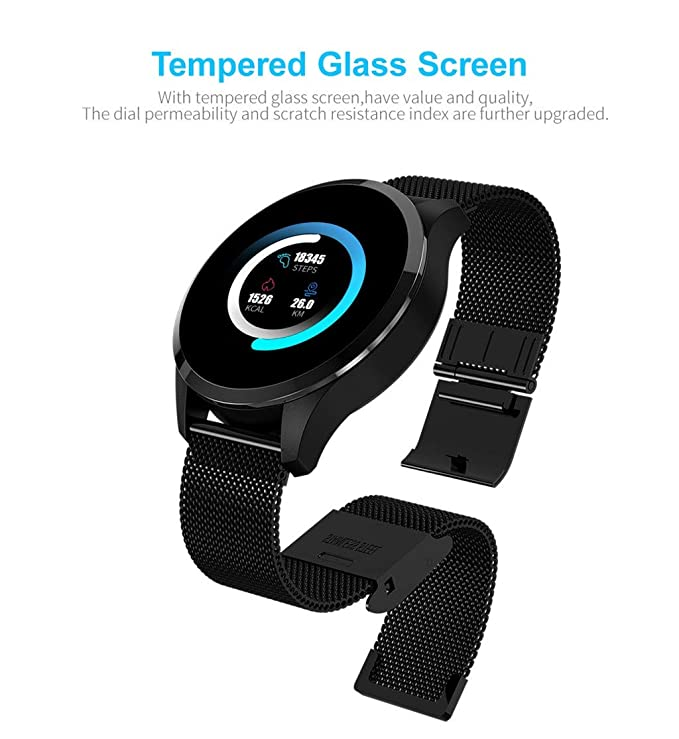 Amazon.com: Sunward Q9 Smartwatch 1.22inch Color Screen ...