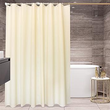 Vorhänge Aufhängen miwang das hotel wc beige farbe duschvorhang tuch badezimmer