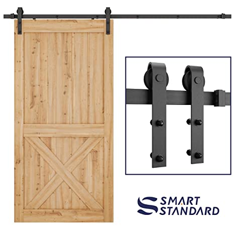 Amazon Smartstandard 8ft Heavy Duty Sliding Barn Door Hardware