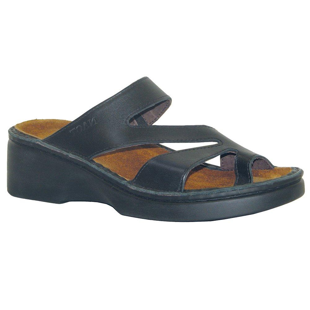 NAOT Monterey High Scandinavian Women Sandals B01MG3SWS7 38 M EU|Black Matte Leather
