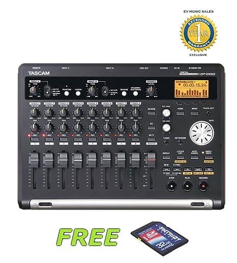 Tascam DP-03SD digital Portastudio grabadora de 8 pistas con ...