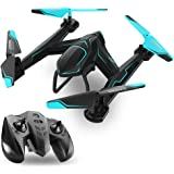TEMI AG-01 RC Drone Quadcopter 2.4Ghz 6 Axis Gyro 4 Channel Remote Control Helicopter Kits Easy to Fly for Beginners Kids Adults, FPV WiFi HD Camera[Optional], Good Choice for Drone Training