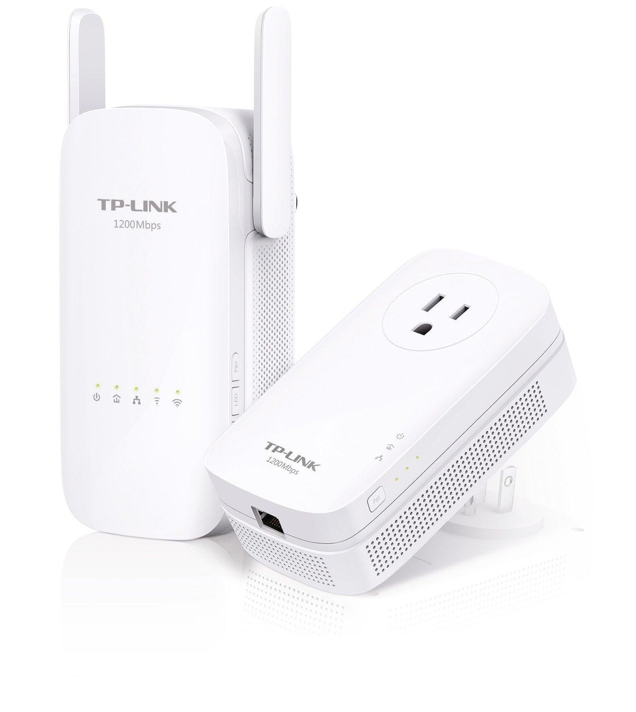 TP-Link AC1200 Wi-Fi Range Extender, AV1200 Powerline Edition (TL-WPA8630 KIT) by TP-LINK