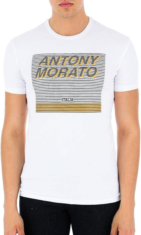Antony Morato Camiseta Stampa Blanco para Hombre XXL Blanco ...