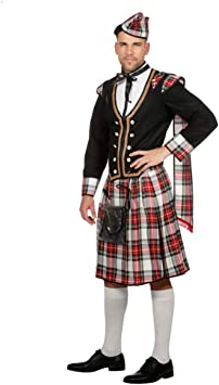 Disfraz De Hombre Escocés Duncan 54: Amazon.es: Juguetes y ...