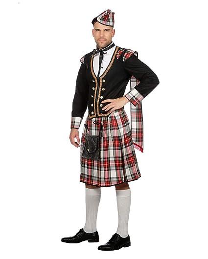 Disfraz De Hombre Escocés Duncan 50: Amazon.es: Juguetes y juegos