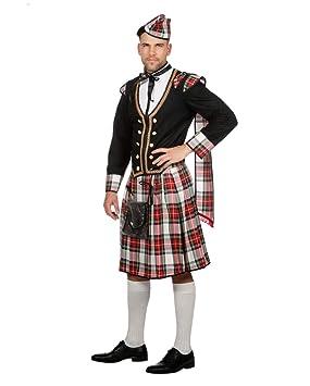 Disfraz De Hombre Escocés Duncan 56: Amazon.es: Juguetes y ...