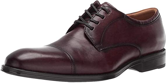 Florsheim Men's Allis Comfortech Cap Toe Oxford Dress Shoe
