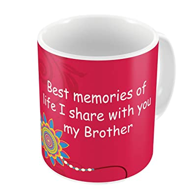 Indi ts Best Memories With My Bro Quote Printed Gift Set