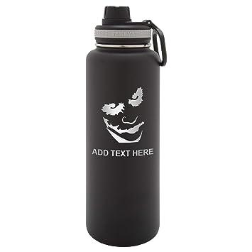 Amazon.com: Vaso para botella de agua de acero inoxidable ...