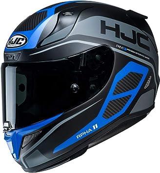 Casco de motocicleta HJC RPHA 11 SARAVO MC2SF, Noir/Bleu, S