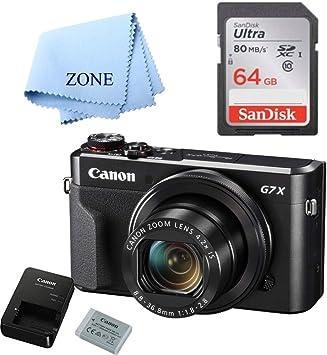 Amazon.com: Canon G7X Mark II Cámara digital – Wi-Fi y NFC ...