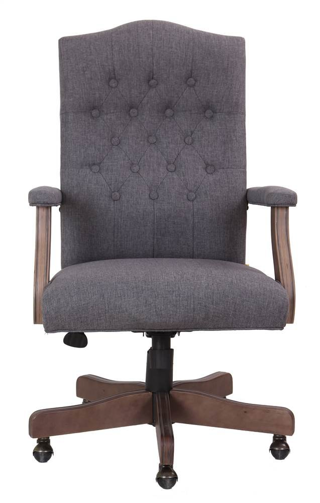 Boss Office Products B905DW-SG Desk-Chairs