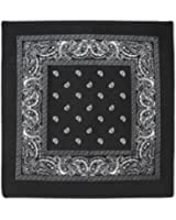 Paisley Bandanas 100% Cotton - Head Wrap 22 x 22