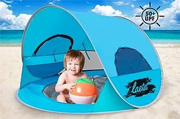Baby Pop-Up Beach Tent with Pool u0026 Bonus Beach Ball Sun Shelter with  sc 1 st  Amazon.com & Amazon.com: Baby Pop-Up Beach Tent with Pool u0026 Bonus Beach Ball ...