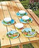 12-Pc.Happy Camper Dinnerware Set