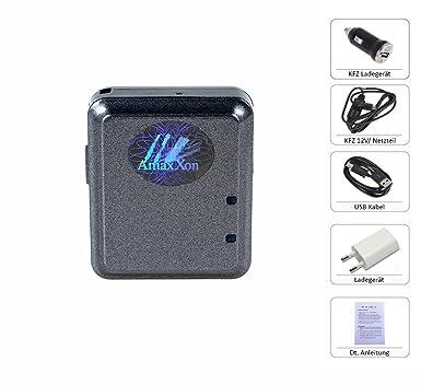 La última Mini GPS Tracker Incluye Tiempo real standortabfrage para Android/iPhone App/Web con función de vibración Sensor/Nivel de Sensor y abhör ...